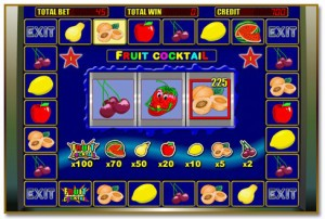 играть в слот Fruit Cocktail